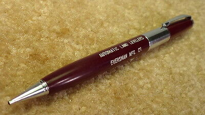 *OLD* Chrome tip Scripto Eversman Mfg. Mechanical Pencil