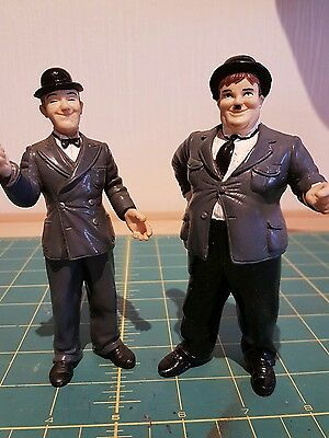 Vintage Laurel And Hardy Collectible  Figurine/Ornament