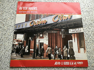 After Hours - Northern Soul Masters Double VInyl LP Album Various Artists Labels