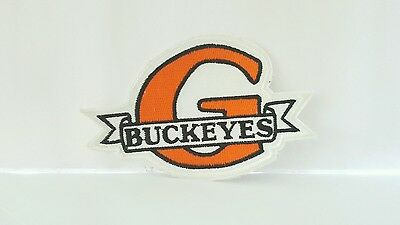 Advertising Buckeye Color Patch 4 x 2 1/2 inches