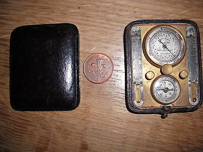 pocket barometer/thermometer  with compass for restoration