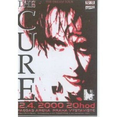 CURE Dream Tour FLYER Turkish 2000 Promo Flyer For Concert At Paegas Arena