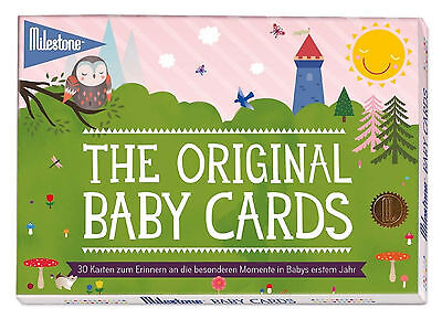 Milestone The Original Baby Cards Beautifully Funny Illustrated - Classic