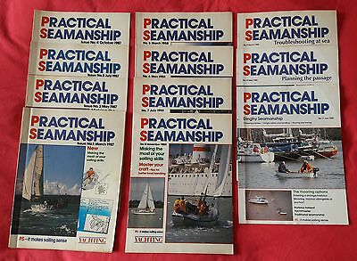 Practical Seamanship - Yachting Monthly Booklets from 1987-88 - Collectors Items