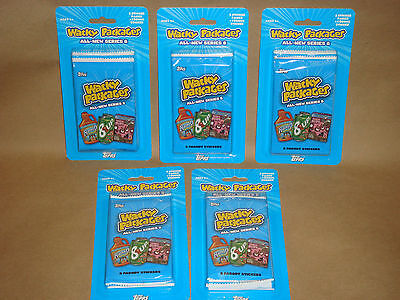 Wacky Packages~2011 Ans 8 ~ New Series 8  Error Blister Packs-#b1,#b2,#b3,b4,b5!