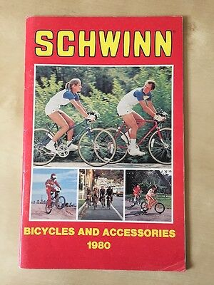 Vintage 1980 Schwinn Bicycles and Accessories Catalog