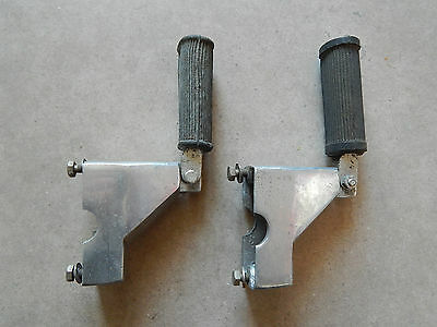 """Vespa Or Vintage Scooter Accessory Footrests New Old Stock    """"uk Postage Cost"""""""