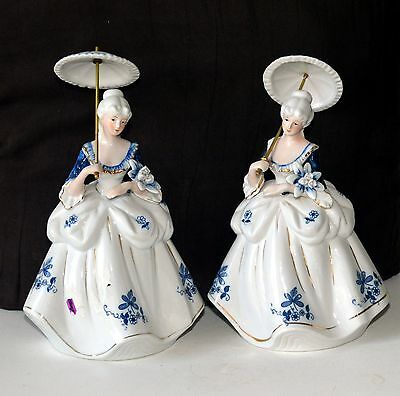 2 Ladies with umbrellas Price reduced from  $30 tp $19.91