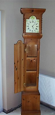 Pine Grandfather Clock with storage/drinks cabinet (Nottingham NG8 Area)