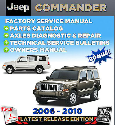 2006 jeep commander repair manual pdf