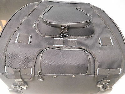 MOTORCYCLE passenger seat TOURING ROLL BAG maximize packng space USE AS BACKREST