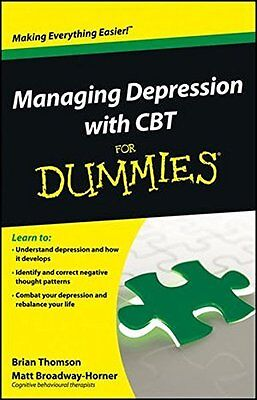 Managing Depression with CBT Fo Book by Thomson  Brian (Paperback) 9781118357187