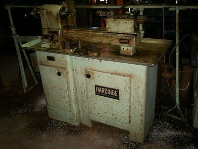 Vintage Hardinge Split Bed Lathe with Accessories