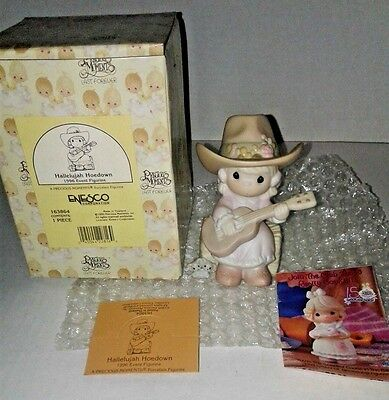 Precious Moments Hallelujah Hoedown 1996 Event (163864) NEW Still in Box!