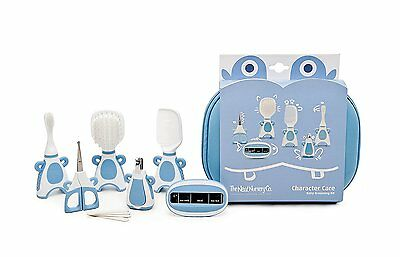 Baby Boys Blue Grooming/Health Care Kit in Travel Case