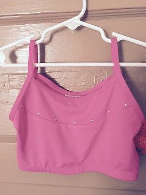 Freestyle by Danskin Girls' Crop Top - NWT - SIZE LARGE 10/12