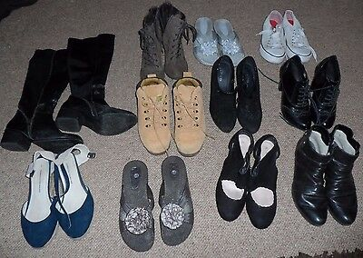 Used Women's Shoes Size 5 JOB LOT Timberland Dorothy Perkins