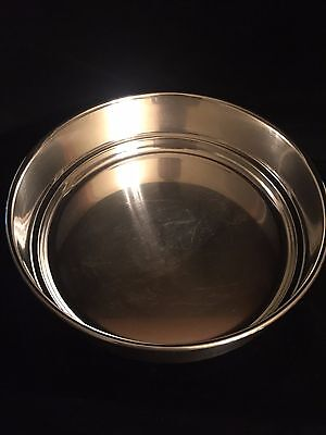 """Sheffield Silver Co., Made in USA  9 1/2"""" Round Silver Plate Pan/Dish/Bowl #1152"""