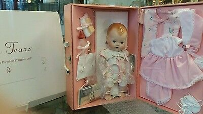 Danbury Mint Tiny Tears Baby Doll With Carry Case ....original Unused!