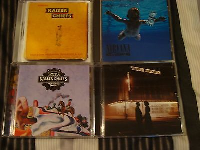 lott 32 indie kaiser cheifs and the cribs and  nirvana