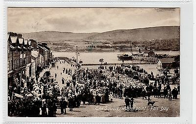 FAIR DAY, THE SQUARE, WARRENPOINT: Co Down, Northern Ireland postcard (C25823)