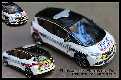 1/43 Décals Renault Scenic 4 Police Municipale Norev 1/43