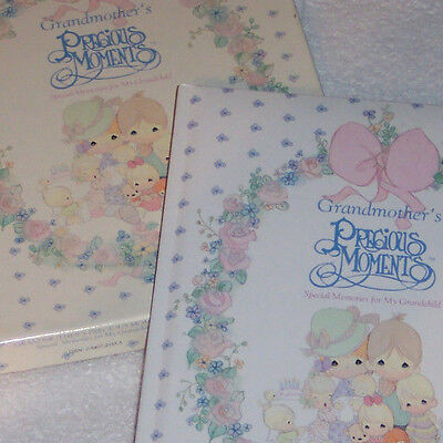 PRECIOUS MOMENTS Grandmothers Special Memory Book for Grandchild New in Gift Box