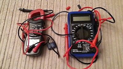 Digital Demestic Multimeter and Mini Clamp Meter