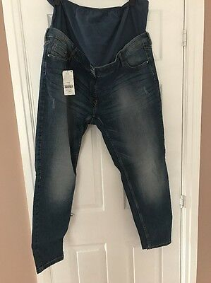 Bnwt Maternity Jeans Next Size 20 Over Bump