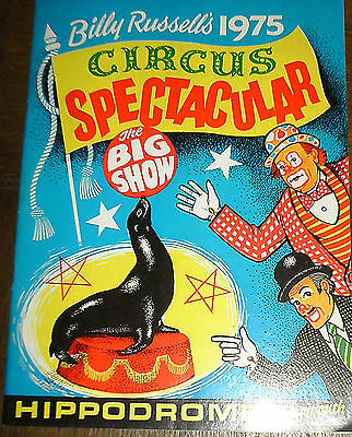 Great Yarmouth Hippodrome Circus Programme 1975