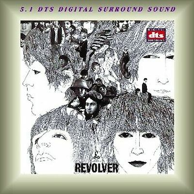 Beatles 5.1 Surround Sound Cd Revolver DTS New And Sealed