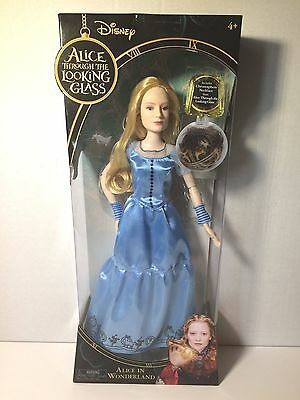 """Disney Alice Through The Looking Glass 11.5"""" Doll Alice in Wonderland"""
