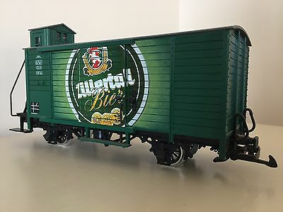 G Scale ZILLERTAL BIER WAGON - LGB Reference 42265 with Brakesman's Cabin