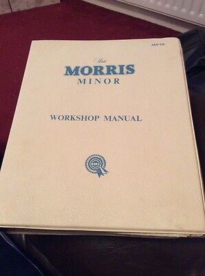 Classic Car Morris Minor Workshop Repair Manual Book