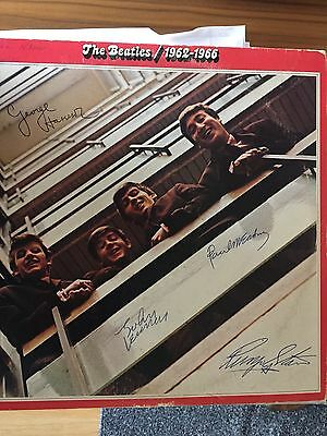 "The Beatles signed ""1962-1966"" album"