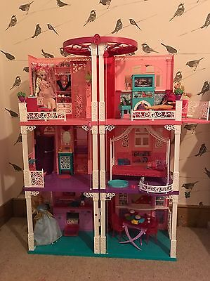 BARBIE CALIFORNIAN DREAM HOUSE rare +lots Extras Worth Over £350! Dolls Clothes