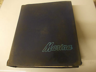 Morris Marina genuine workshop manual