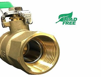 "( 10 pcs) 1"" NPT Ball valve 600 WOG IPS Lead Free"