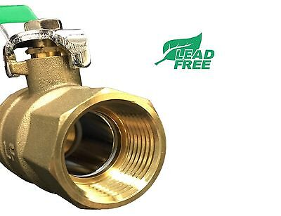 "( 5 pcs) 1"" NPT Ball valve 600 WOG IPS Lead Free"