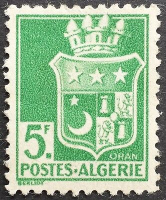 Coat of arms of Oran 1942 mint Algeria stamp for sale please click to view