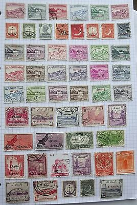 Pakistan. Collection of 52 stamps.