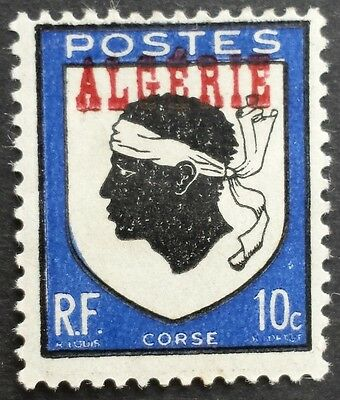 Provincial arms of Corsica 1945 mint Algeria stamp for sale please click to view