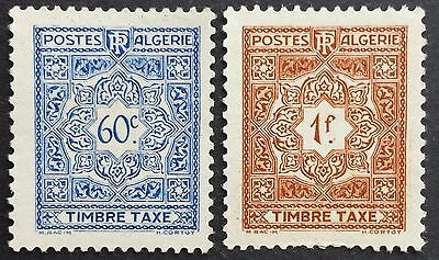 Postage dues 1947 mint Algeria stamps for sale please click to view