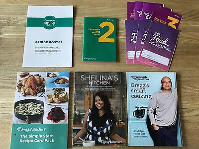 Weightwatchers Cook Books - shelina, Greg Master chef Etc Brand Pro-points