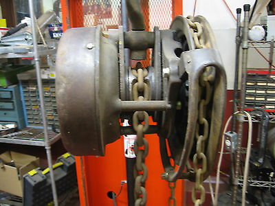 Yale Spur Geared Block Hoist / Crane 1 Ton Heavy Duty