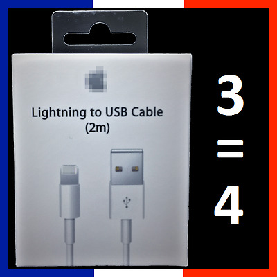 Cable Original 2M Charge Usb Lightning Iphone 5/5C/5S/6/6S/6+