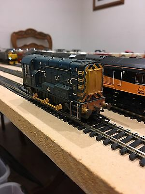 Bachmann 32-115 Class 08173 BR Blue Weathered Dcc Fitted