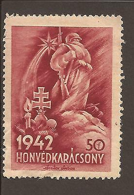 Hungary 1942 War fund relief (MNH)