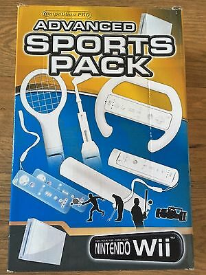 Nintendo Wii Competition Pro Advanced Sports Accessory Pack - BRAND NEW