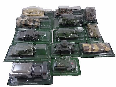 Lot 13 - Chars - Tanks - Vehicules  Militaires - Metal - 1/72 -  Eac - Neuf